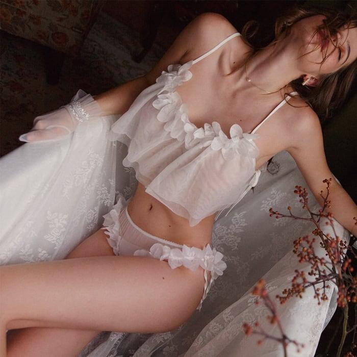 Flower fairy lingerie