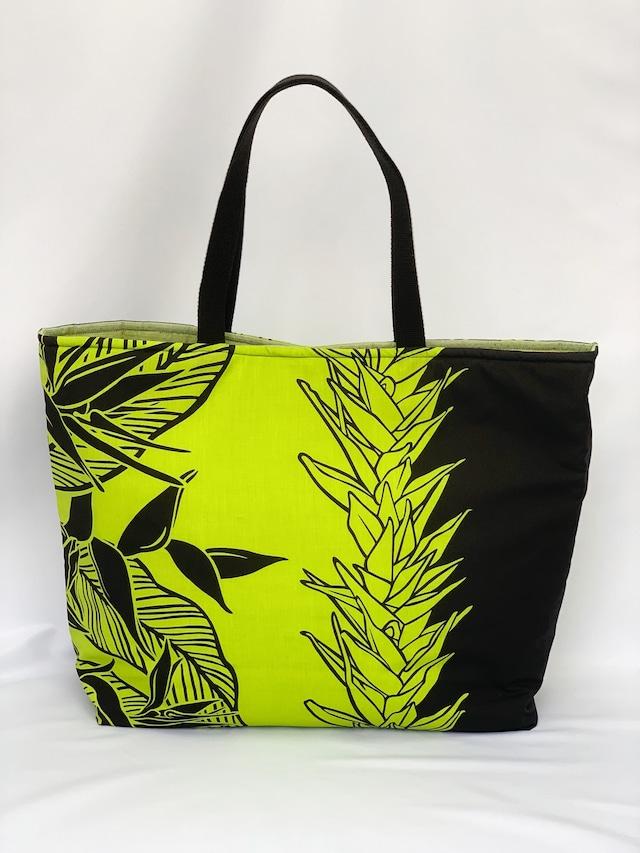 【一点ものにつき無くなり次第終了】大人のためのトートバッグ T's gallery original ハンドメイドハワイアンバッグ