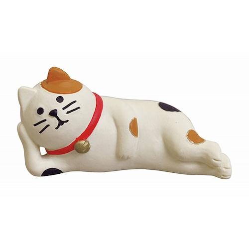 ゴロ寝 三毛猫(B-3-016)
