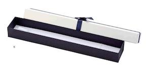 アクセサリー紙箱 リボン付きフェザーボックス 6個入り 7345-N