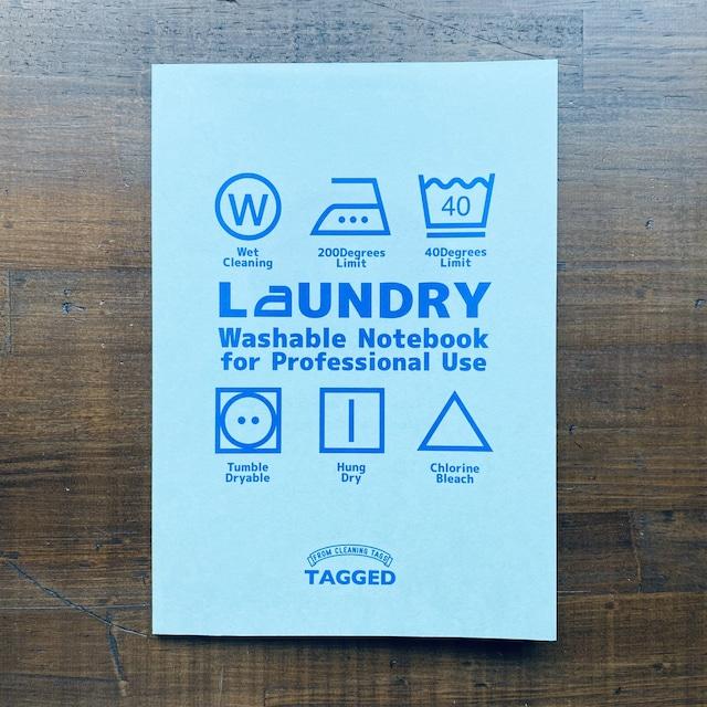 洗えるA5耐洗紙ランドリーノート(ブルー・ウキウキノートの中身ノート)