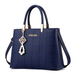 ハンドバッグレディース 財布サッチェルショルダーバッグ トートバッグ Blue