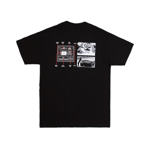 ALLTIMERS / GUIDE TO LIFE TEE -BLACK-