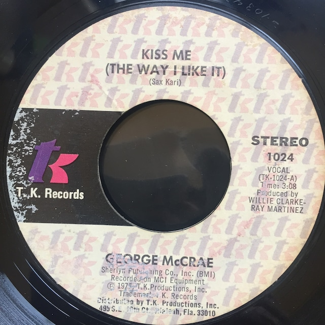 George McCrae – Kiss Me (The Way I Like It)