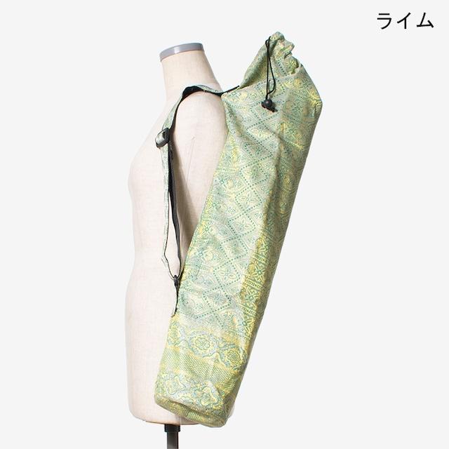 サリーヨガマットケース ライム Saree Yoga Mat Case Lime