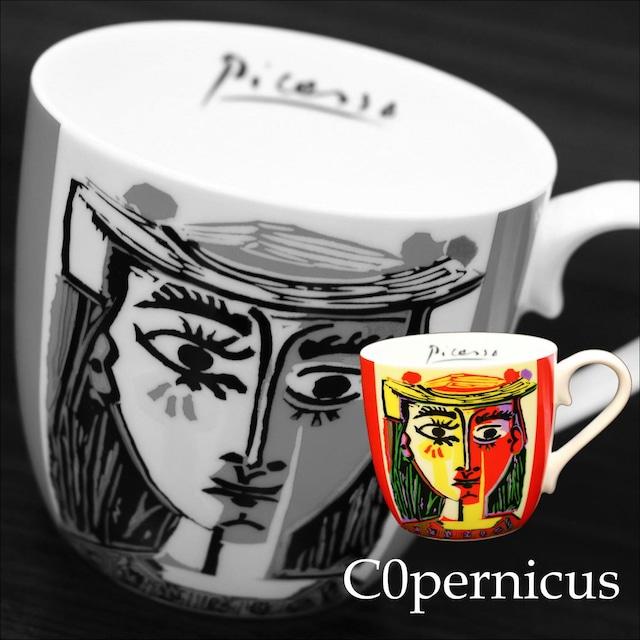 Picasso Corrida 帽子の女【artマグカップ】   浜松雑貨屋C0pernicus(電子レンジ、食器洗浄機にも対応)