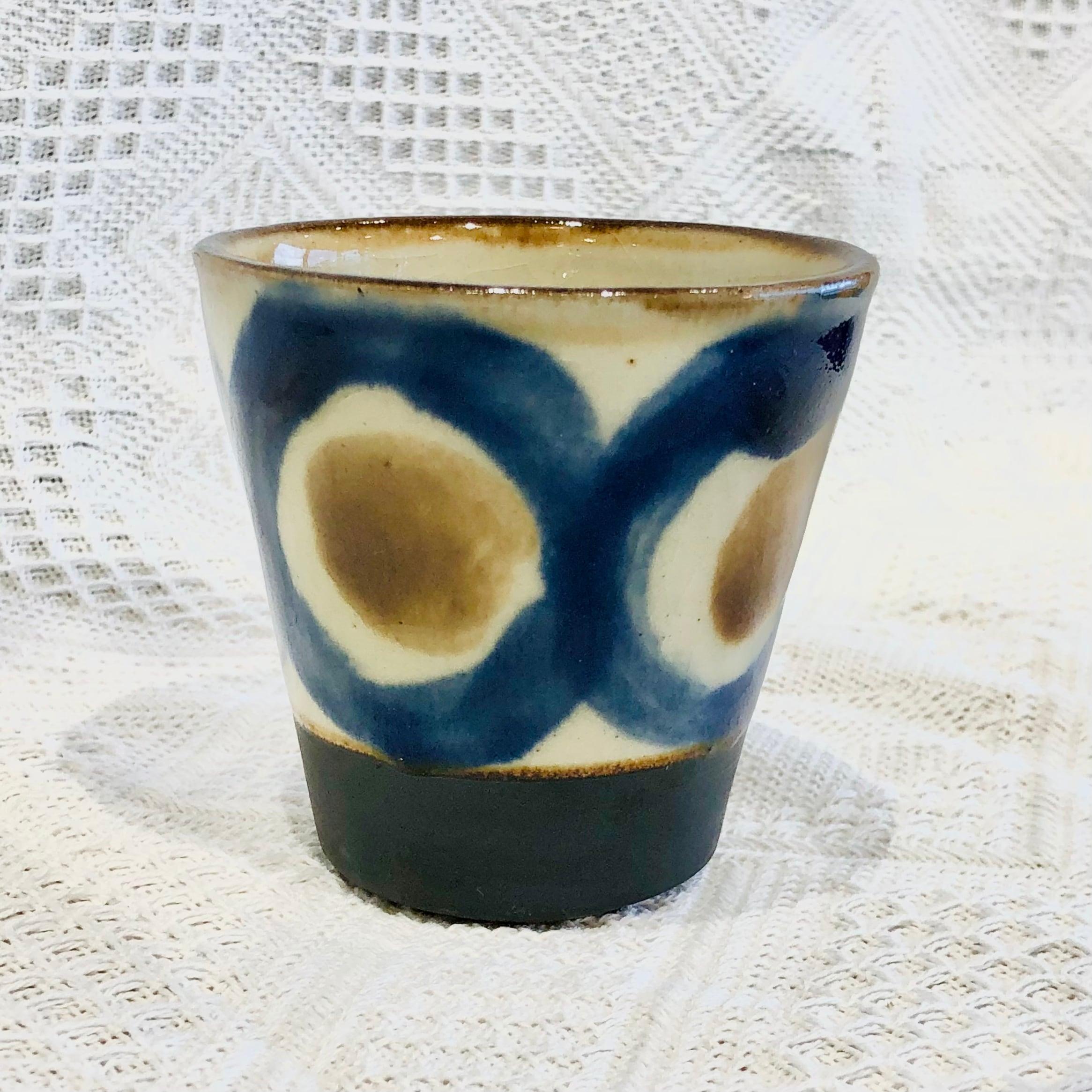 『ノモ陶器製作所』フリーカップ大コバルト