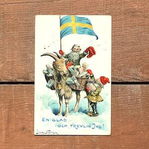 クリスマスカード「Jenny Nyström(イェニー・ニィストルム)」《201206-06》