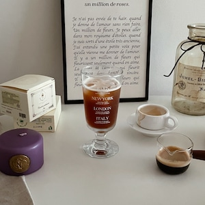 travel goblet 4colors / トラベル ゴブレット コップ  バリ ロンドン ニューヨーク イタリア 韓国 北欧 雑貨