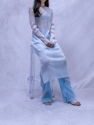 【WOMENS - 1 size】SEETHROUGH LONG ONEPIECE / 4colors