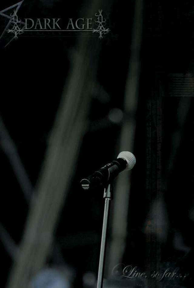 """DARK AGE """"Live, So Far..."""" DVD / PAL (輸入盤)"""