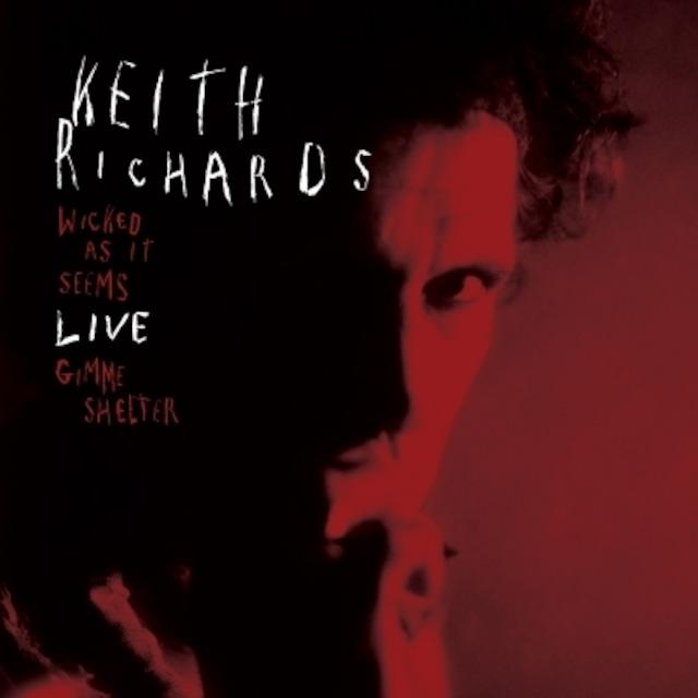 [新品7inch]  Keith Richards - Wicked As It Seems (Live)