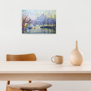 素敵なアートパネル A4サイズ ノートルダムドラガルド ポール・シニャック
