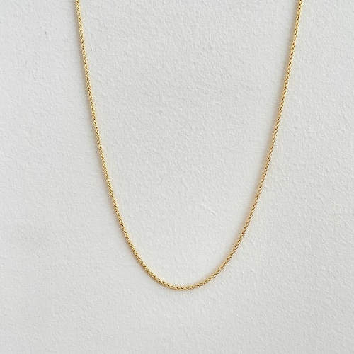 【GF1-128】22inch gold filled chain necklace
