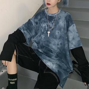 タイダイ長袖Tシャツ / HWG014