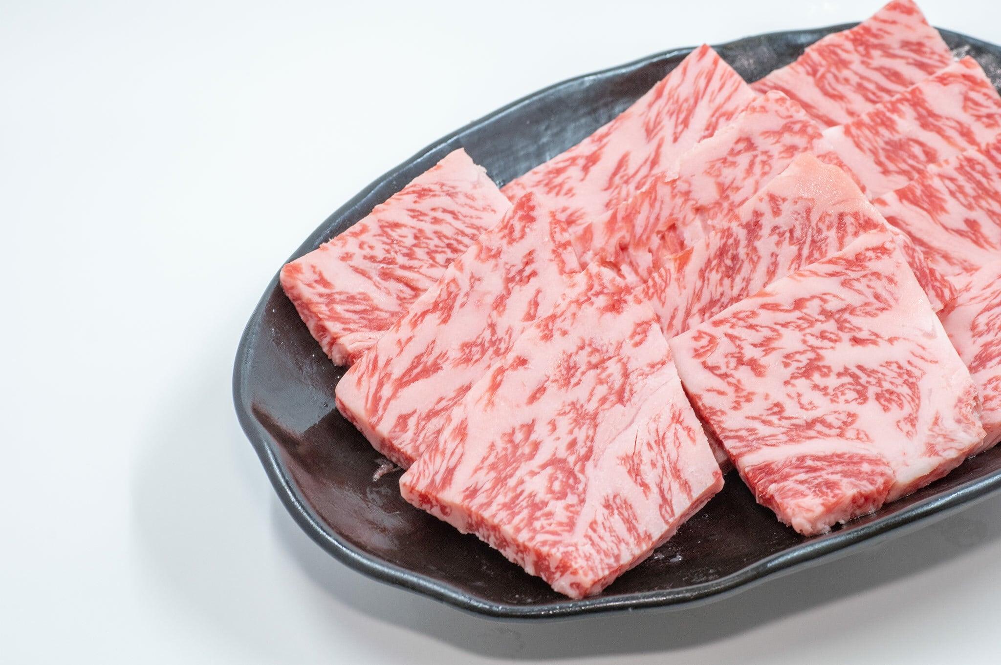かわなべ牛 特上焼肉(極上カルビ500g)