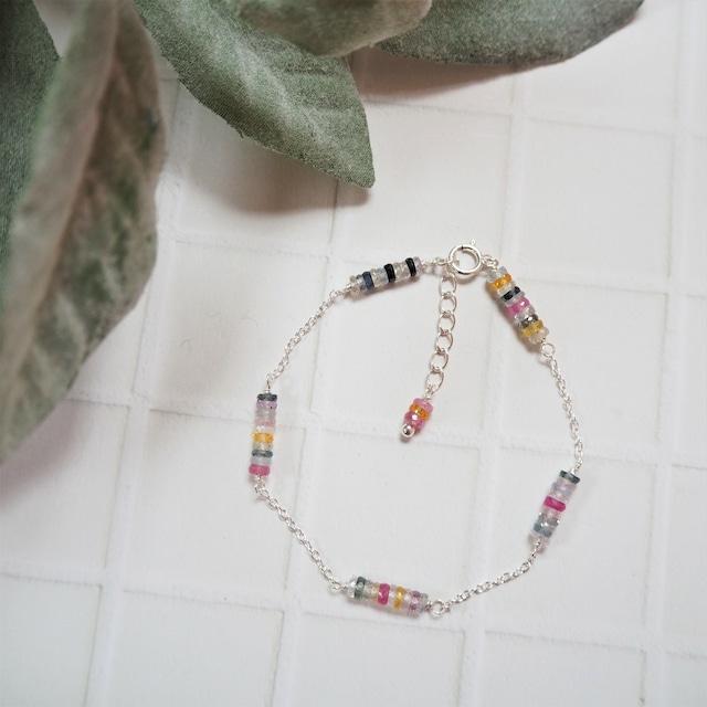 Sapphire Chain Bracelet saltymood by SEARCH. 19385004-b