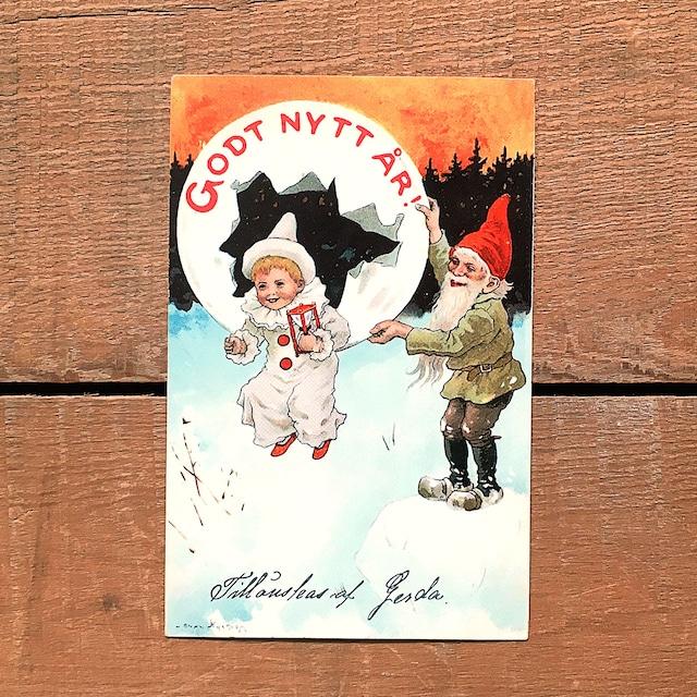 ニューイヤーカード「Jenny Nyström(イェニー・ニィストルム)」《201206-05》