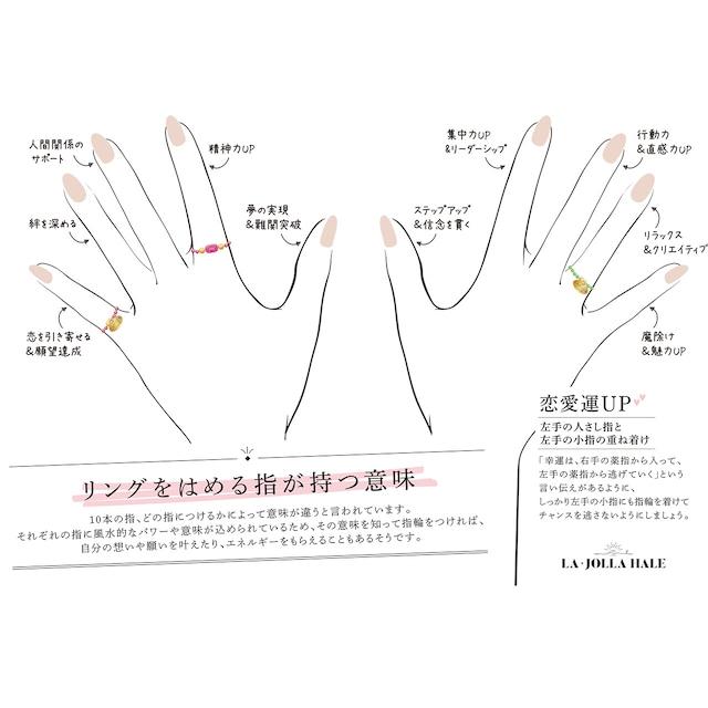シルバーヘマタイト【リング】