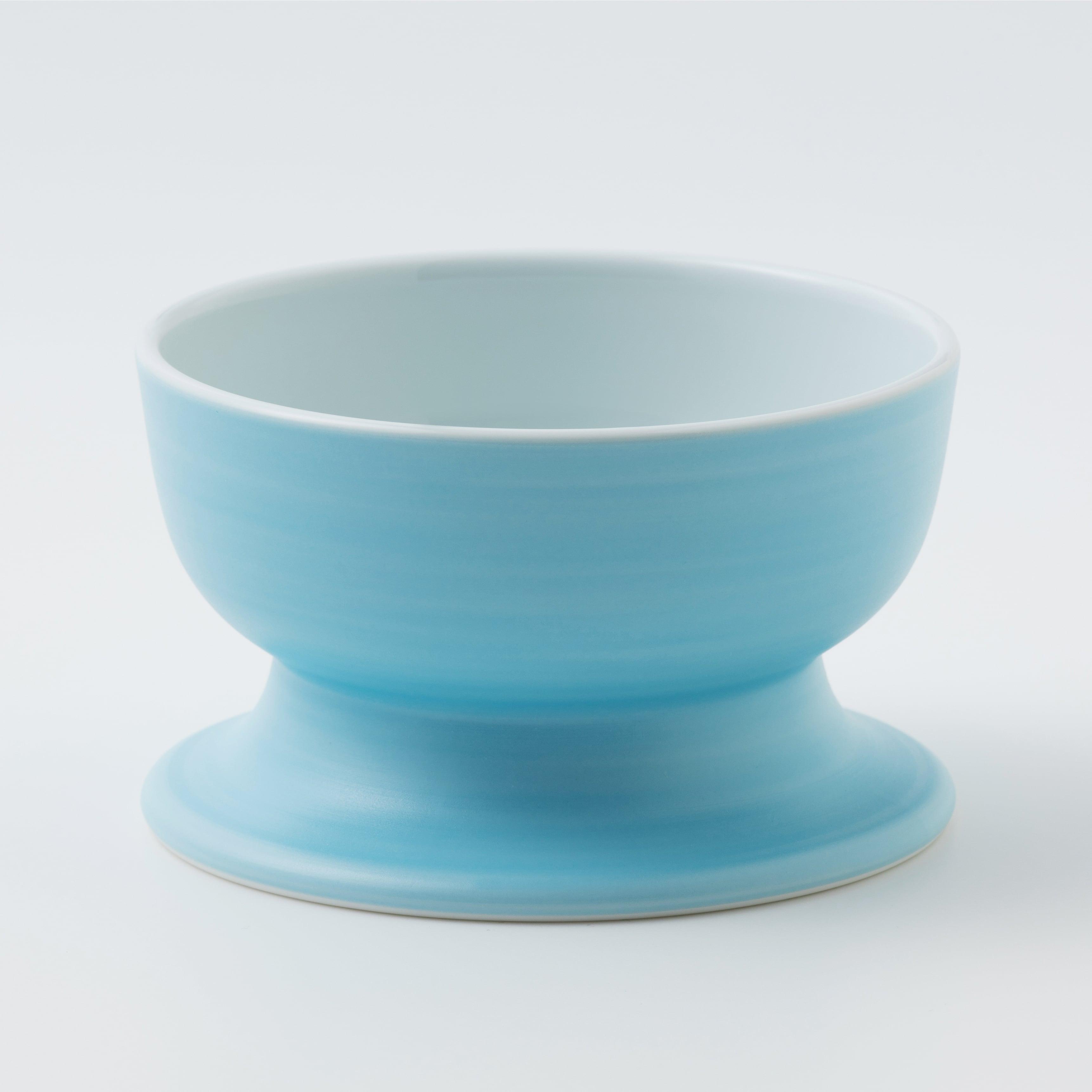 有田焼【聖(セント)】スカイ ロータイプ(水用)製造:アリタポーセリンラボ
