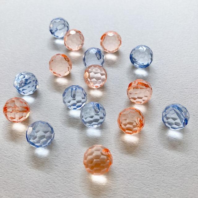 ダイヤカットクリアボタンパックS(8p)