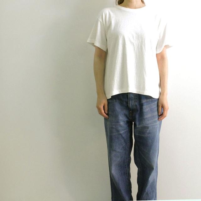 FilMelange (フィルメランジェ) ERIN  エリン オーガニックコットン ボックスタックTシャツ