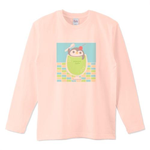 ペンギンメロンソーダ / 5.6オンスロングTシャツ (Printstar)