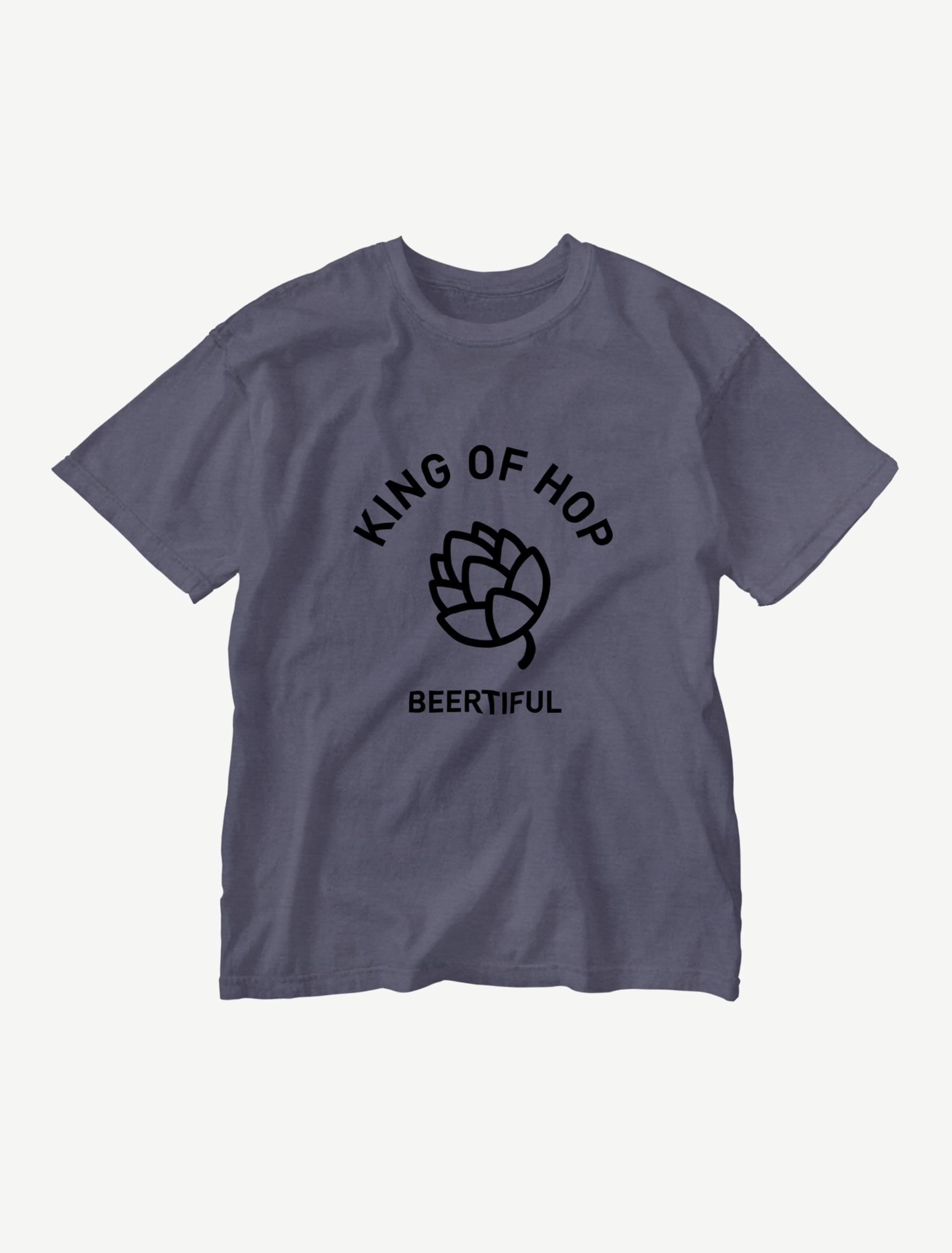 【KING OF HOP】ウォッシュTシャツ