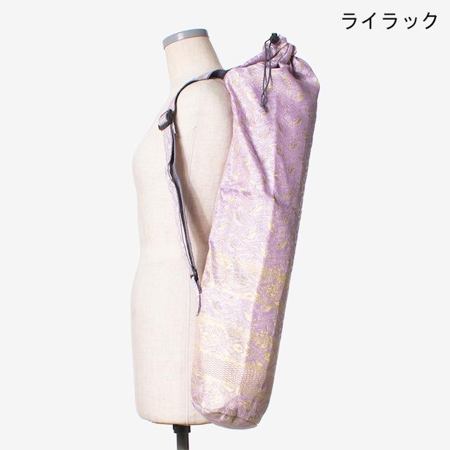 サリーヨガマットケース ライラック Saree Yoga Mat Case Lilac