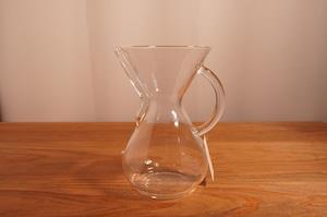 CHEMEX ガラスハンドルコーヒーメーカー6人用