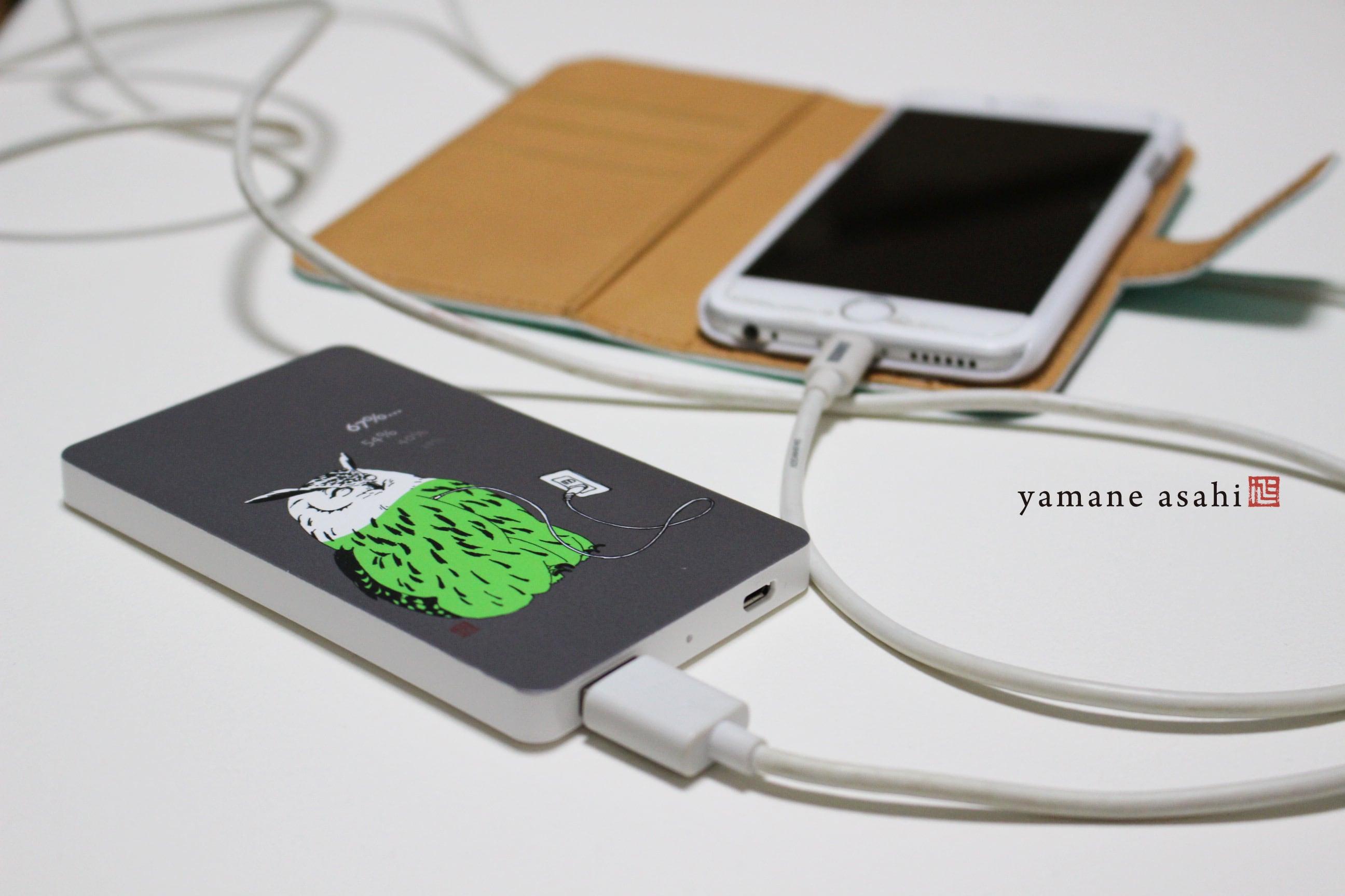 ユーラシアワシミミズクのモバイルバッテリー