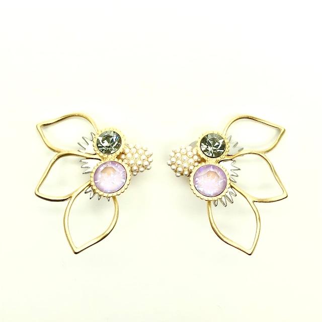 STRI Lotus (イヤリング)ピンク