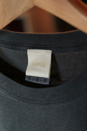 WeWillChill garment dyed L/S TEE [BLACK]