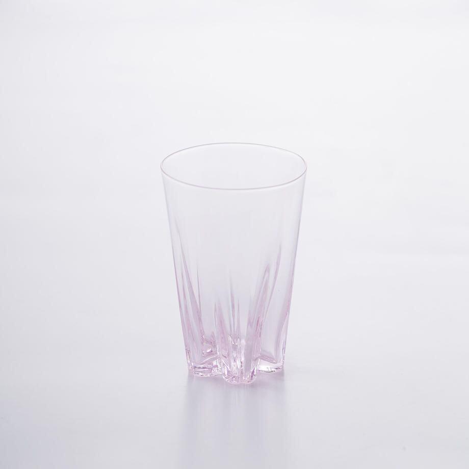 SAKURASAKU glass (サクラサクグラス) Tumbler(タンブラー)【ピンク】単品 木箱入り