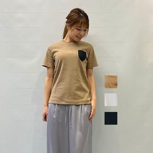 [SALE]DOUBLE STANDARD CLOTHING(ダブルスタンダードクロージング)シリコンワッペンTシャツ 2021春物新作