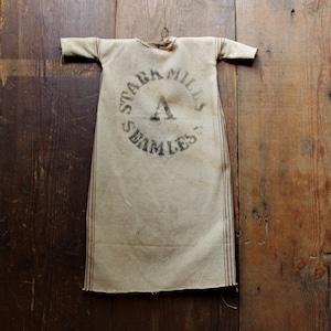 アメリカン・アンティークス / STARK MILLS SEAMLESS SACK BAG Farmers Amulet
