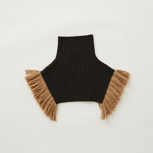 eLfinFolk  Rib knit cape (black) S/M elf-212K10 メール便可