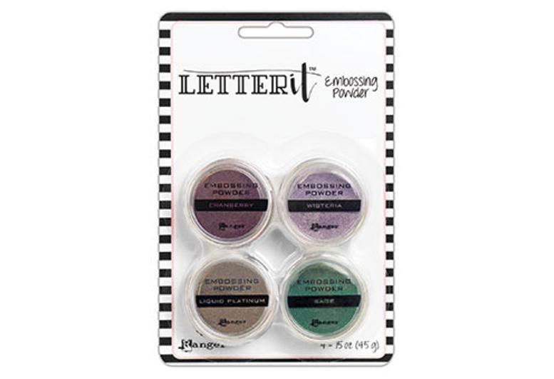 Ranger Letter It Embossing Powder Set - Graceful /エンボスパウダ-セット