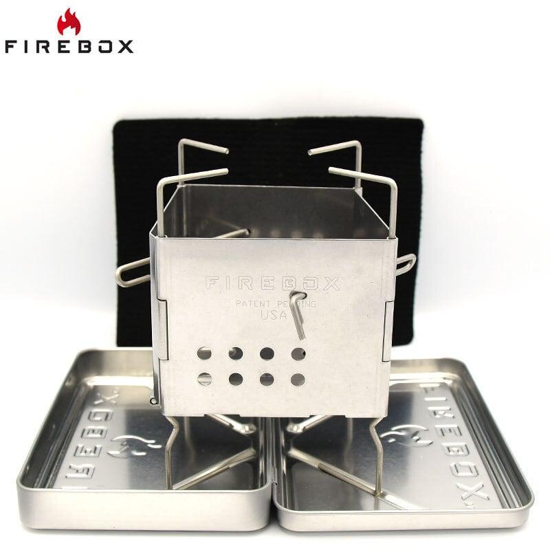 FIREBOX ナノストーブ ボックスセット ステンレス