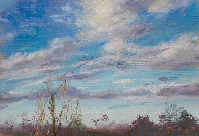 NO.129「北風と雲・1月」