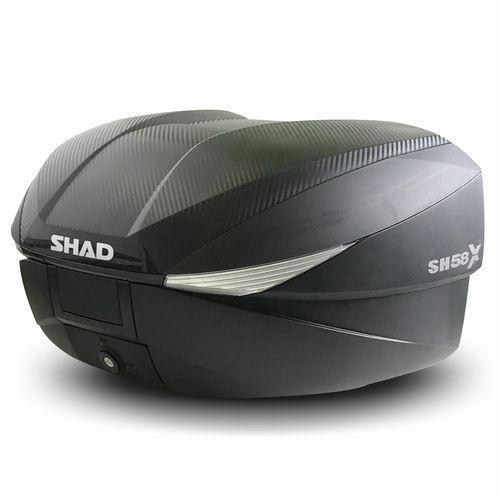 バイク リアボックス ハードケース SHAD SH58X リアボックス カーボン