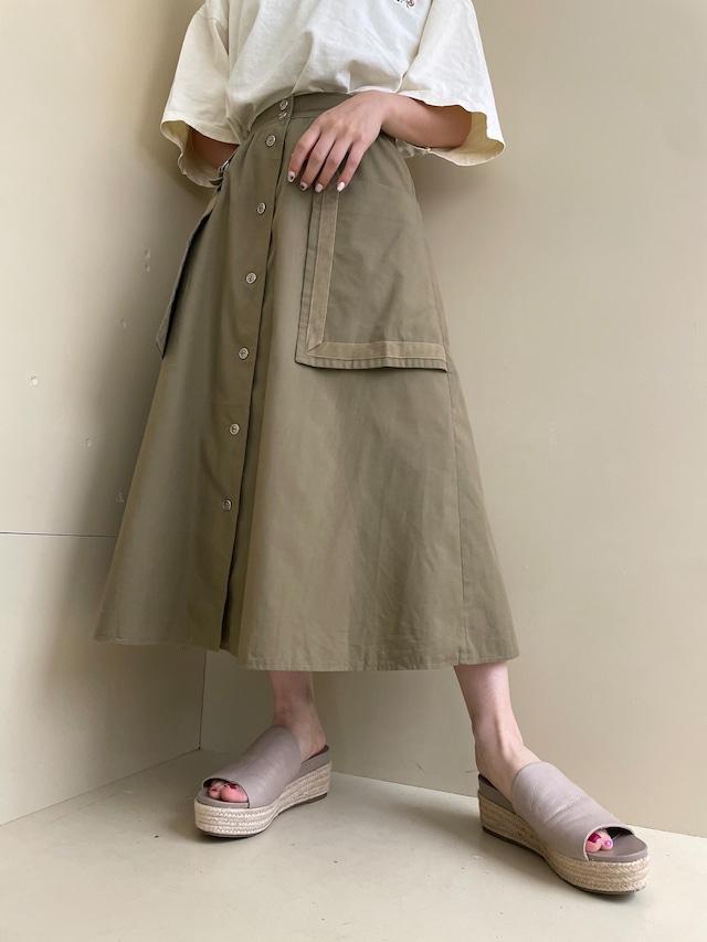design skirt / 7SSSK21-17