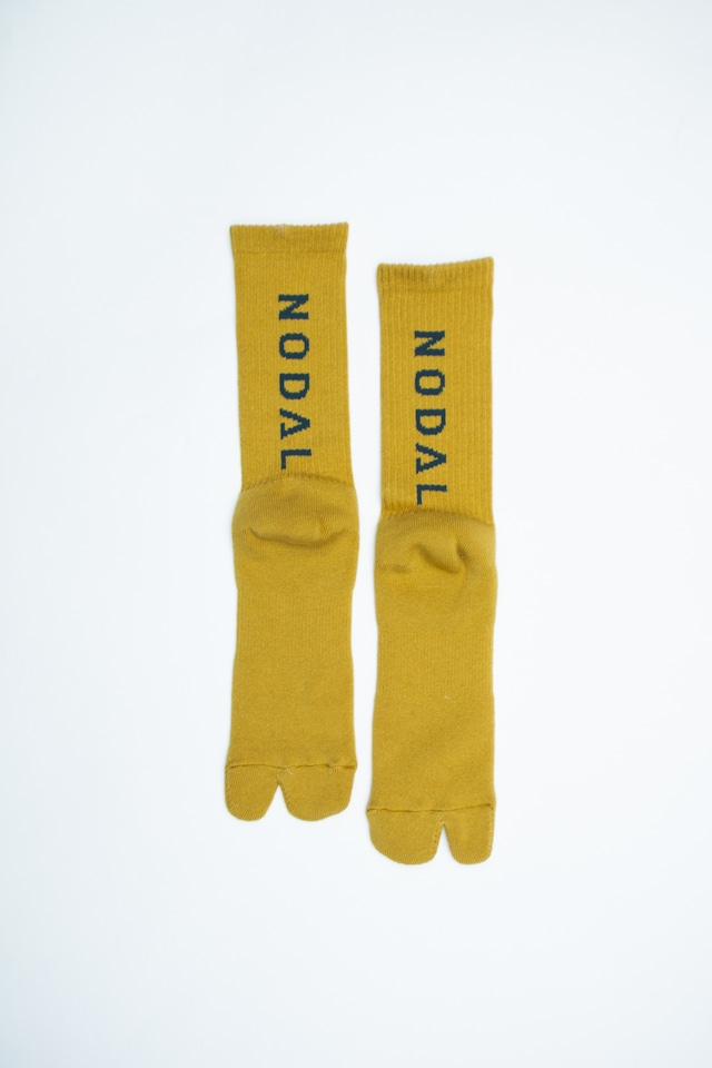 NODAL Logo Socks(Yellow ×  Navy)
