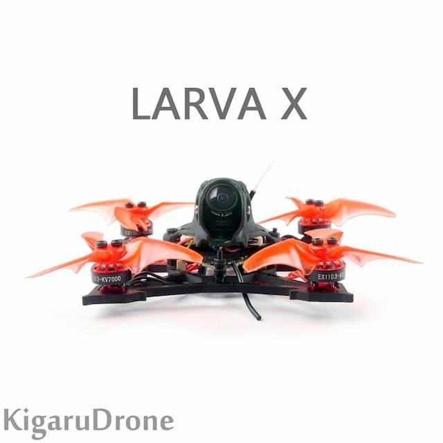 【Larva-X】 Happymodel Larva X 2-3S 2.5inch Brushless FPV Racing Drone 【 Frsky RX / Futaba をお選び下さい。】