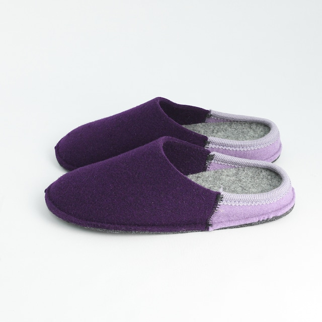 【WEB限定カラー】NUVOLA BICO ルームシューズ Purple / lavender[ Le Clare ]