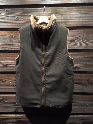 Green Clothing  BOA Vest  green (reversible) Mサイズ