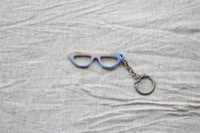 【フランス】メガネのキーホルダー/RUDEL PARIS