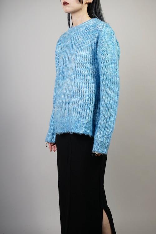 MIX COLOR SWEATER  (BLUE) 2109-81-521