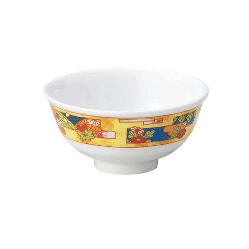 強化磁器 ろくべい茶碗 花いかだ【2001-4190】