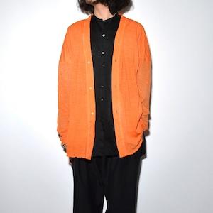All Matching Cardigan 〈Orange〉